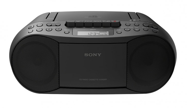 Rádio s CD SONY CFD-S70 černý
