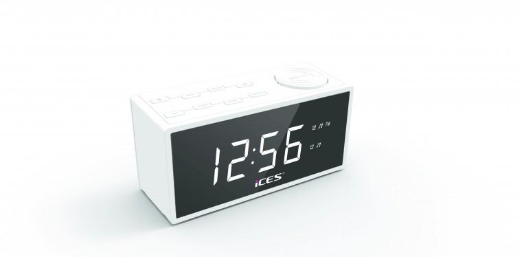 Radiobudík Lenco ICES ICR-240 bílý