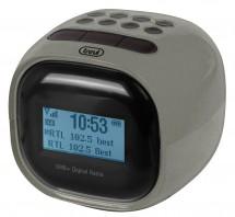 Radiobudík Trevi RC 80D2, šedý