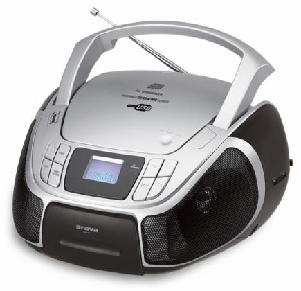 Radiomagnetofon ORAVA RCD-811