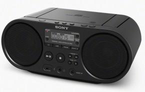 Radiomagnetofon Sony ZS-PS50B, černý