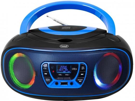 Radiomagnetofon Trevi CMP583, modrý