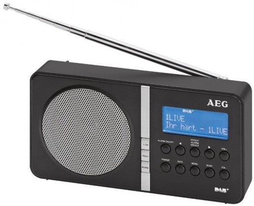 Radiopřijímač AEG DAB 4138 BK (Black)