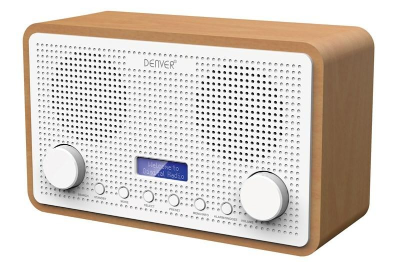 Radiopřijímač DENVER DAB-34