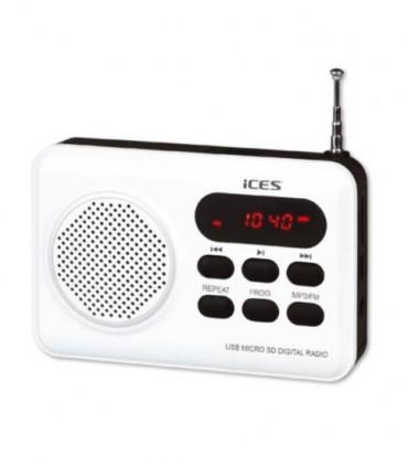 Radiopřijímač ICES IMPR-112 bílá