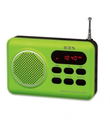 Radiopřijímač ICES IMPR-112 zelená