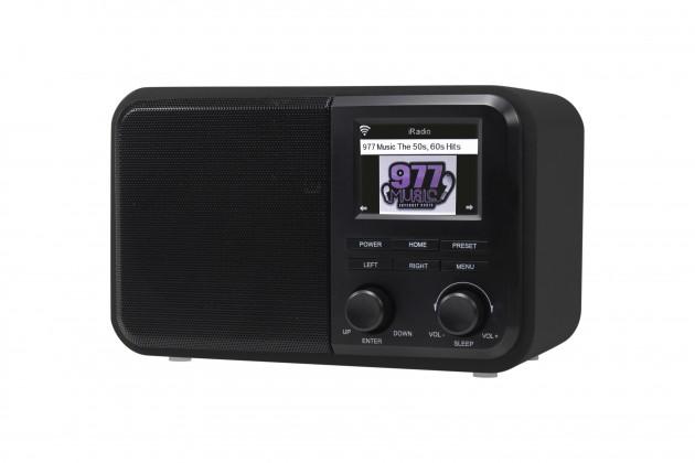 Radiopřijímač Internetové rádio Denver IR-130