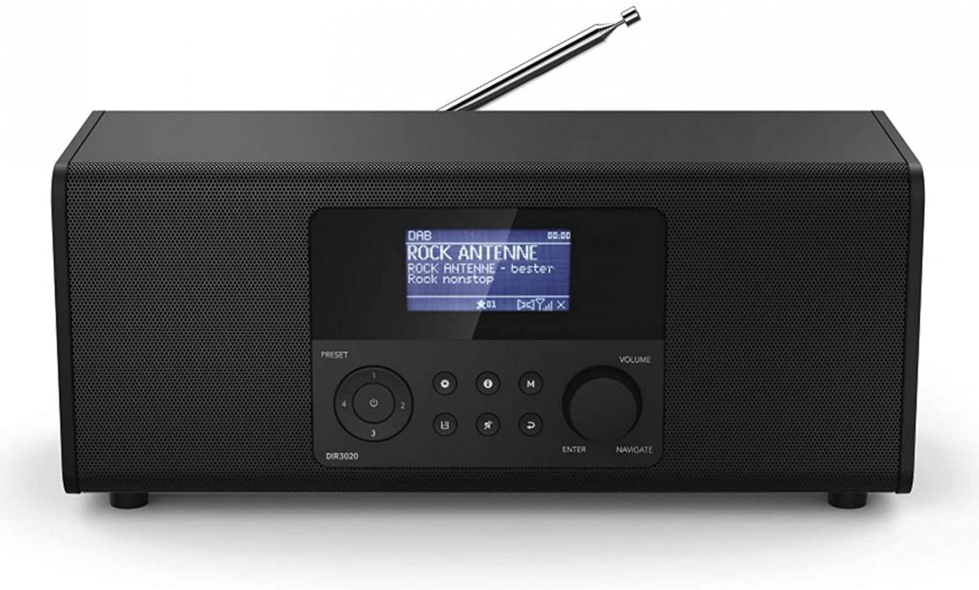 Radiopřijímač Internetové rádio Hama DIR3020, černé