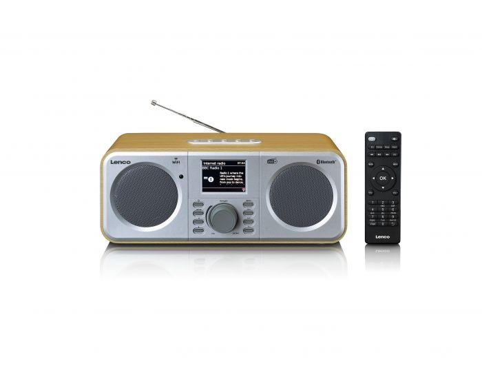 Radiopřijímač Internetové rádio Lenco DIR-140