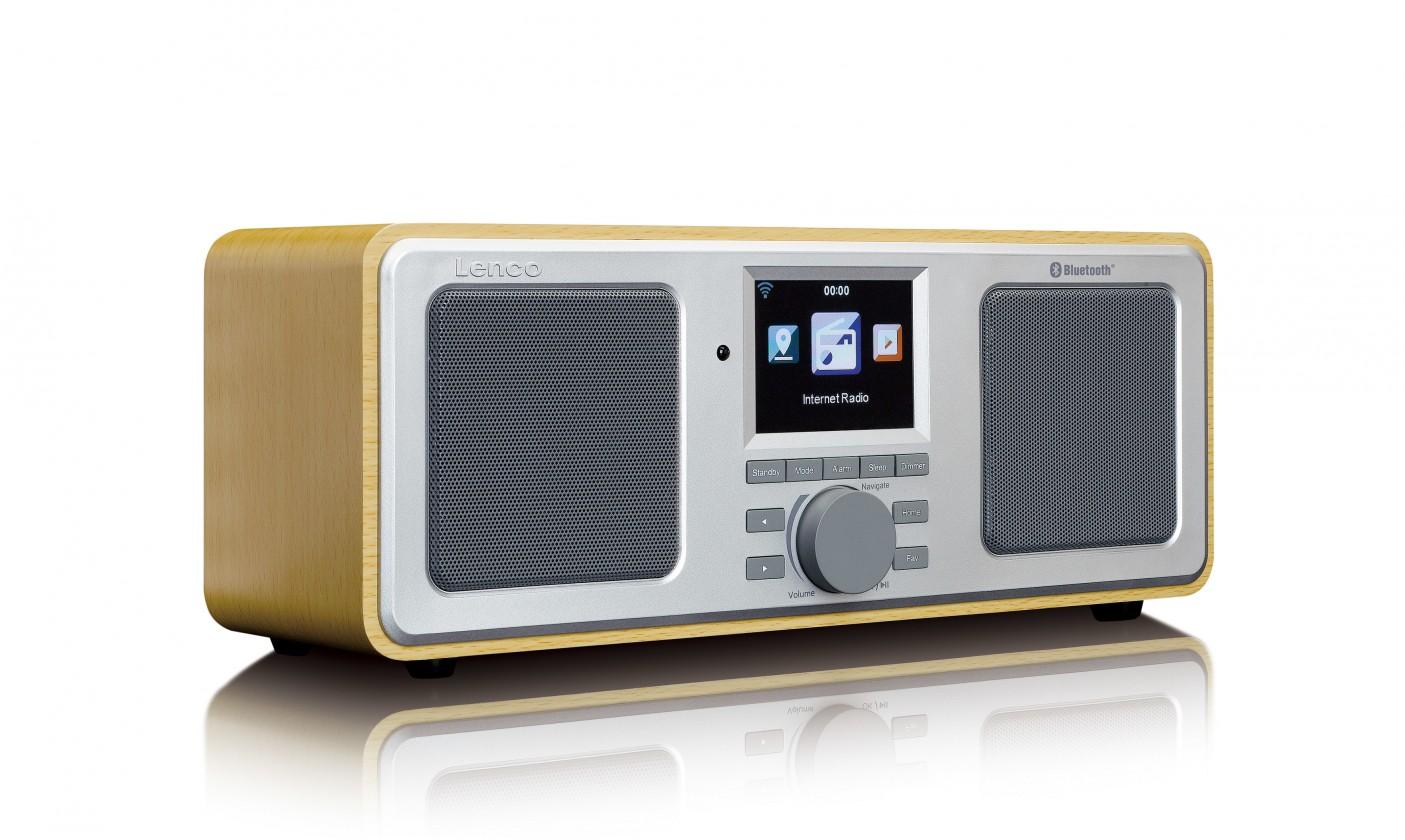 Radiopřijímač Internetové rádio Lenco DIR-150