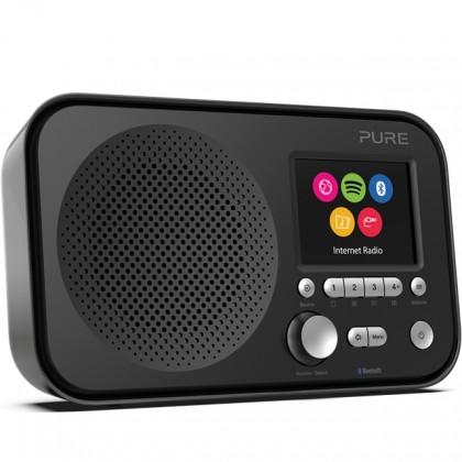 Radiopřijímač Internetové rádio s BT a Spotify Connect, PURE Elan IR5, černé