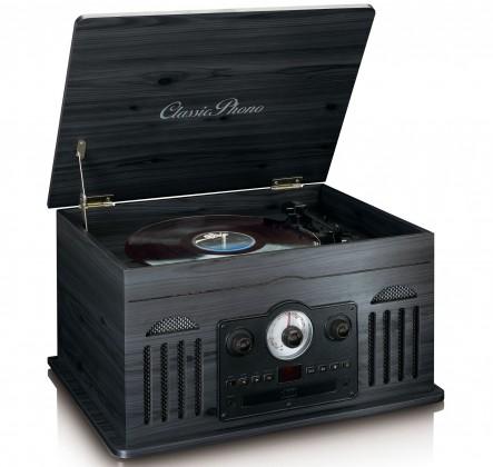 Radiopřijímač Lenco TCD2600, černý