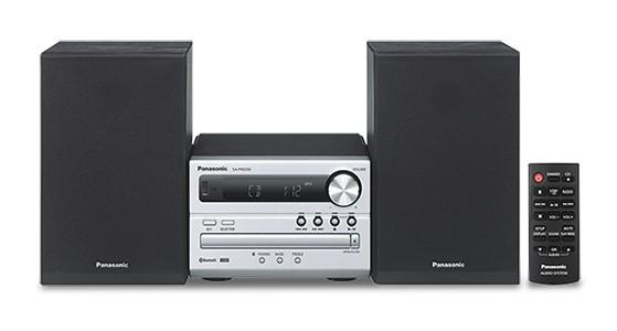 Radiopřijímač Mikrosystém Panasonic SC-PM250EC-S
