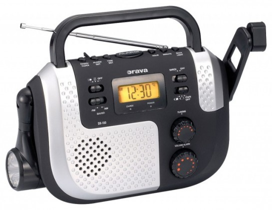 Radiopřijímač ORAVA DR-100