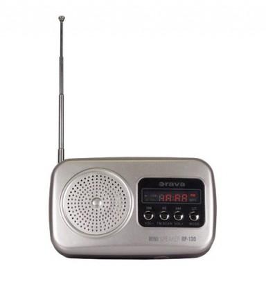 Radiopřijímač Orava RP-130 S stříbrný