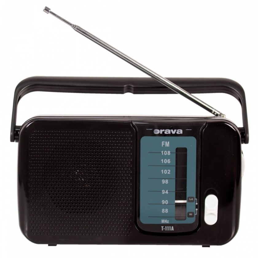 Radiopřijímač Orava T-111