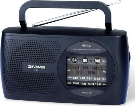 Radiopřijímač ORAVA T-120B