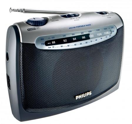 Radiopřijímač Philips AE2160/00C