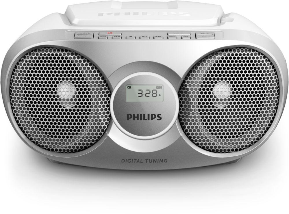 Radiopřijímač Philips AZ215S POUŽITÉ, NEOPOTŘEBENÉ ZBOŽÍ