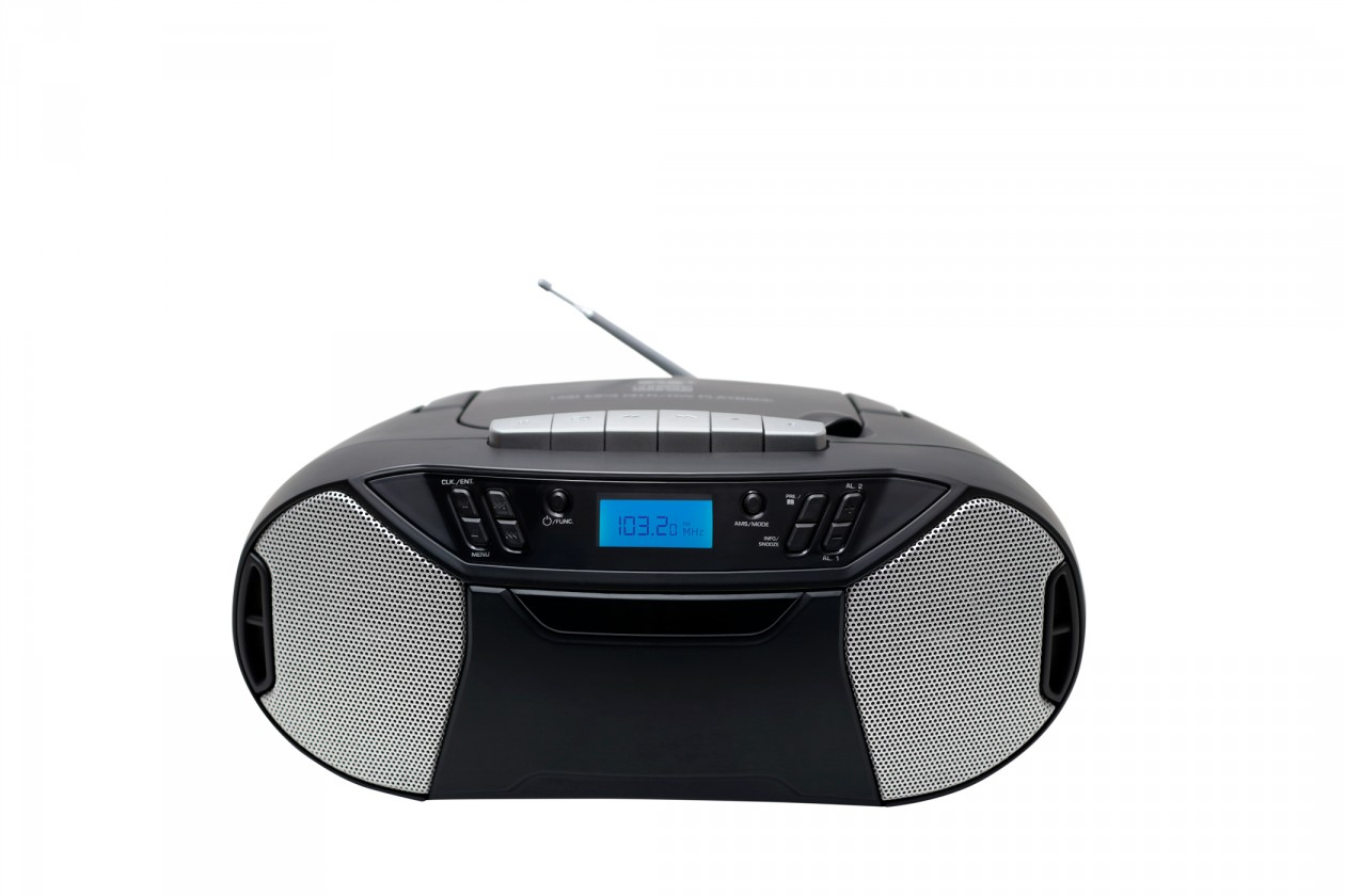 Radiopřijímač PORTABLE RADIO TAPE/CD RK250UCD THOMSON