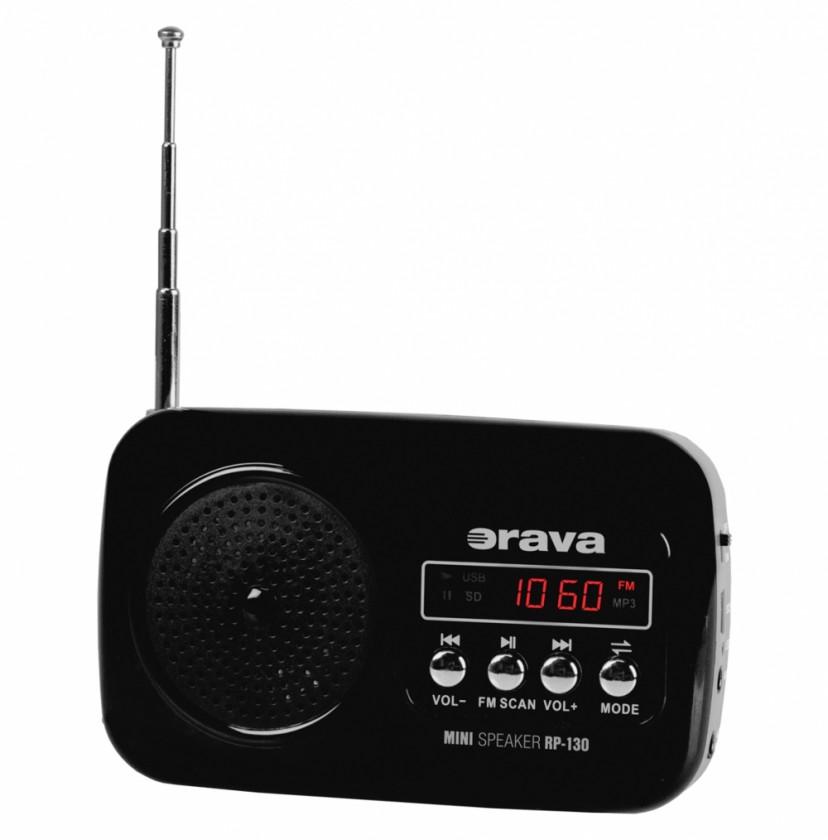 Radiopřijímač Rádio Orava RP-130