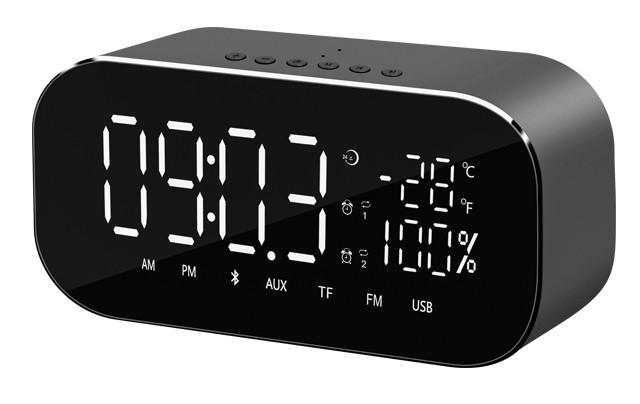 Radiopřijímač Radiobudík Akai ABTS-S2, černý