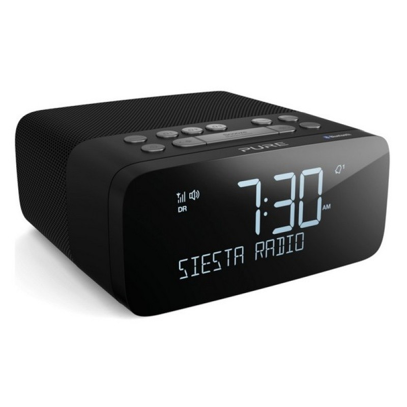Radiopřijímač Radiobudík s DAB+, FM a Bluetooth, PURE Siesta Rise S, grafitová