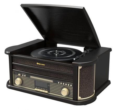Radiopřijímač Retro gramofon Roadstar HIF-1898 D+BT
