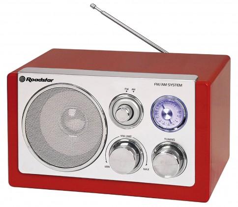 Radiopřijímač Roadstar HRA-1200W/RD