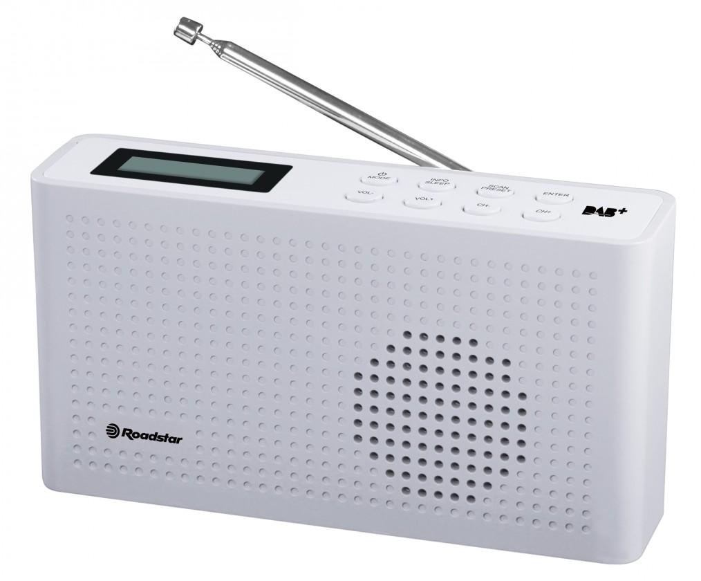 Radiopřijímač Roadstar TRA-130D+ bílý
