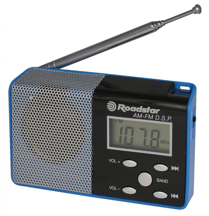 Radiopřijímač ROADSTAR TRA-2395P/BL