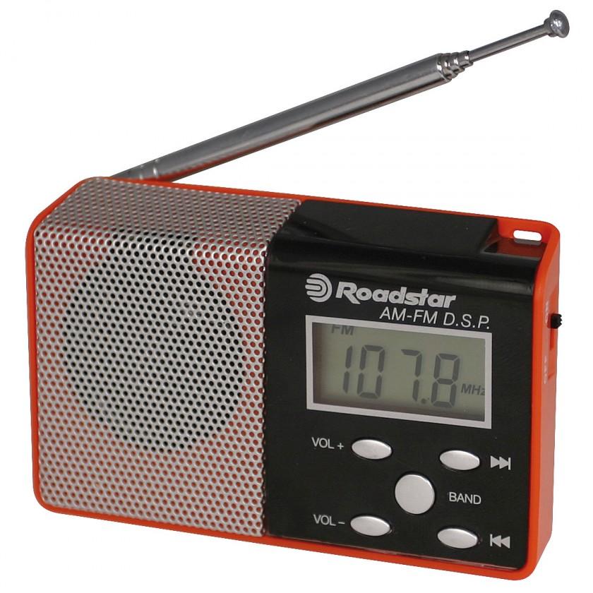 Radiopřijímač ROADSTAR TRA-2395P/RD