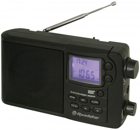 Radiopřijímač Roadstar TRA-2425 PS/W