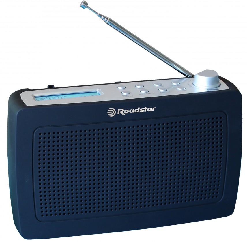Radiopřijímač Roadstar TRA-886D+BK