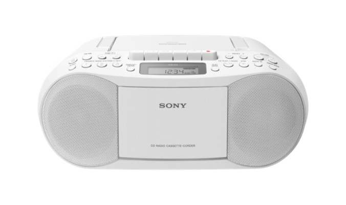 Radiopřijímač SONY CFD-S70 bílý