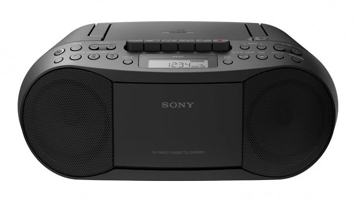 Radiopřijímač SONY CFD-S70 černý