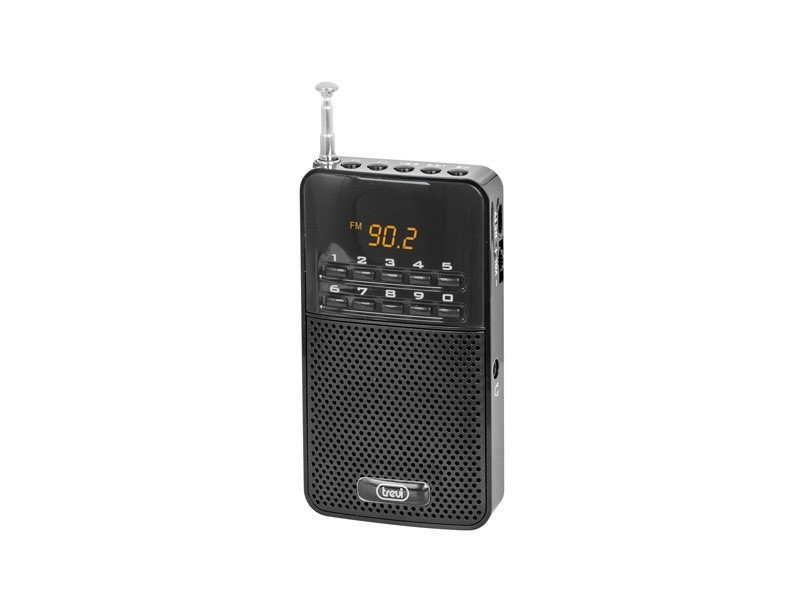 Radiopřijímač Trevi DR 730 BK