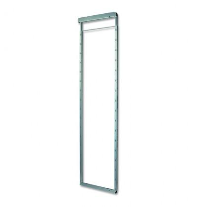 Rám, 154,5 cm (stříbro-šedá)