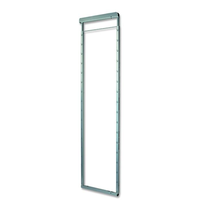 Rám, 194,5 cm (stříbro-šedá)
