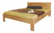 Rám postele Gemma, 140x200, masívní buk, přírodní