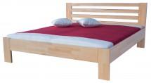 Rám postele Ines, 160x200, masívní buk, přírodní