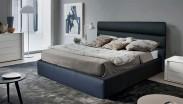 Rám postele Nancy - 140x200 (eko kůže)