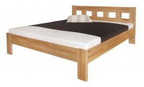 Rám postele Silvana 140x200, masivní buk