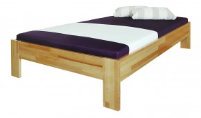 Rám postele Uni 90x200, masivní buk