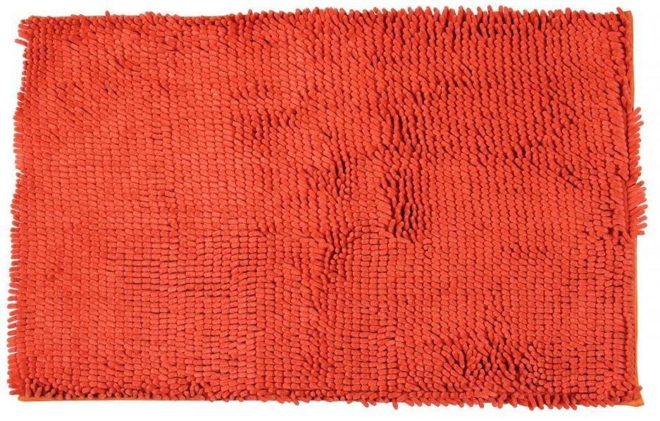 Rasta micro - koupelnová předložka, 50x80 cm (oranžová)
