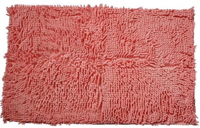 Rasta micro - koupelnová předložka, 50x80 cm (ružová)