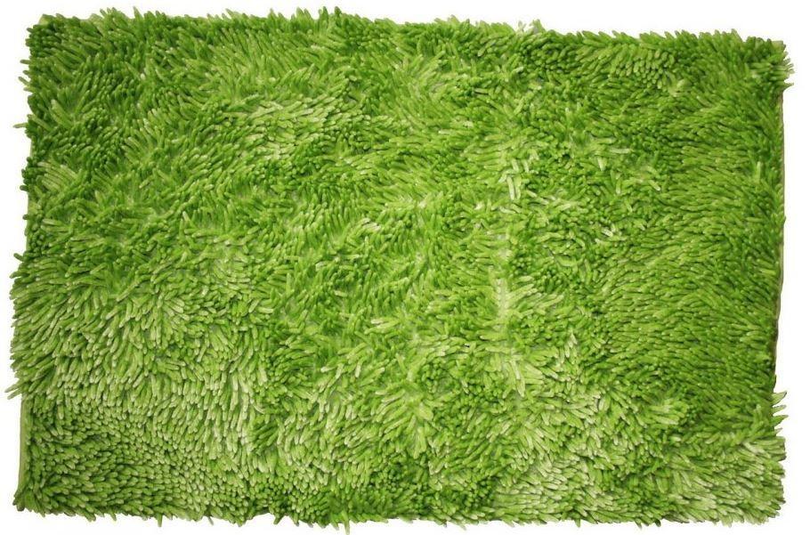 Rasta micro new - koupelnová předložka, 50x80 cm (zelená)