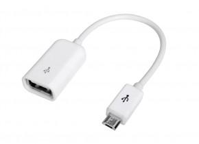 Redukce Avantree USB OTG na Micro USB pro připojení flash disku