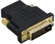 Redukce DVI-D vidlice - HDMI zásuvka, pozlacená