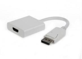 Redukce Gembird Cablexpert Displayport/HDMI, bílá